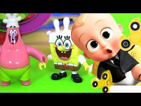 Игры Спанч Боб - играть в игры Губка Боб онлайн