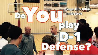 Inside Look at a Vegas Elite Basketball Club Defensive Practice Highlights