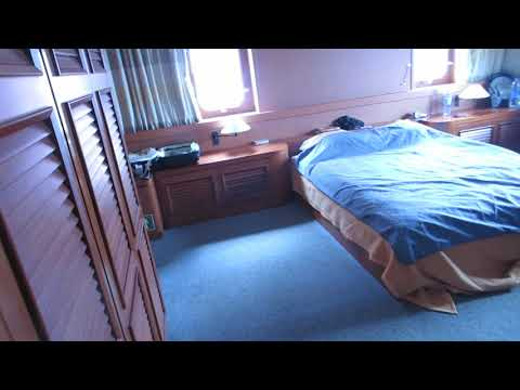 CMA CGM Fidelio Container ship accommodation area tour part