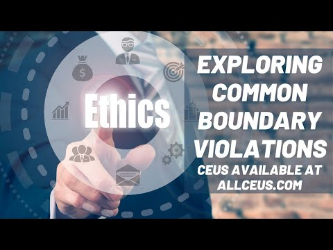 Common Ethical Violations  | Counselor Toolbox Episode 88