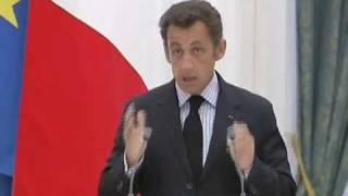 Война в Грузии. Н.Саркози