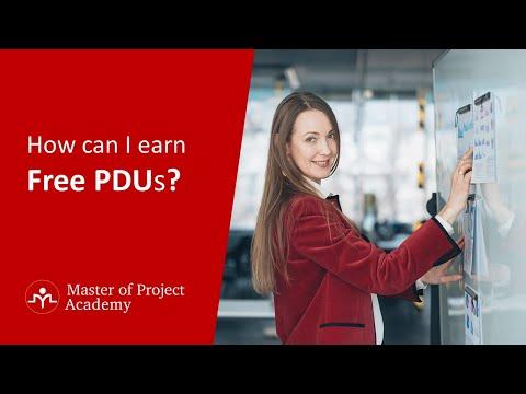 How can I earn Free PDU?