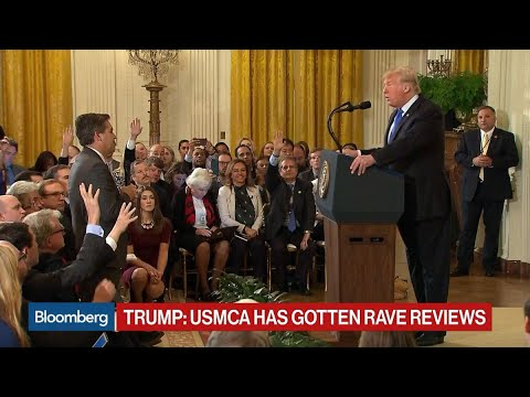 Trump Spars With Reporters Acosta and Alexander at Press Conference