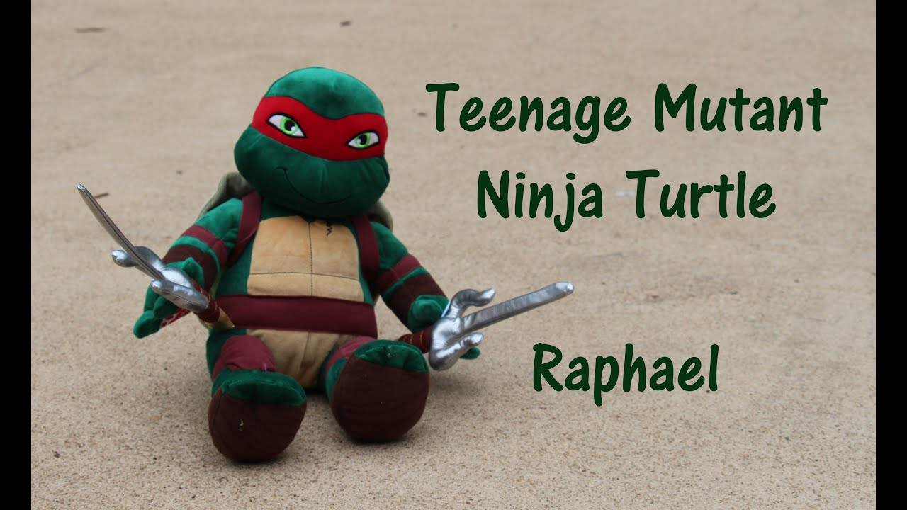 Teenagw Mutant Nija Turtle Build A Bear
