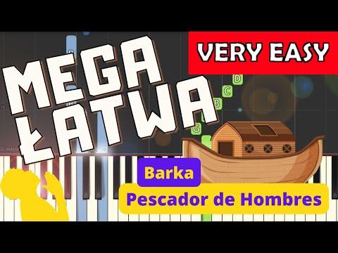 🎹 Barka - Piano Tutorial (MEGA ŁATWA wersja) 🎹