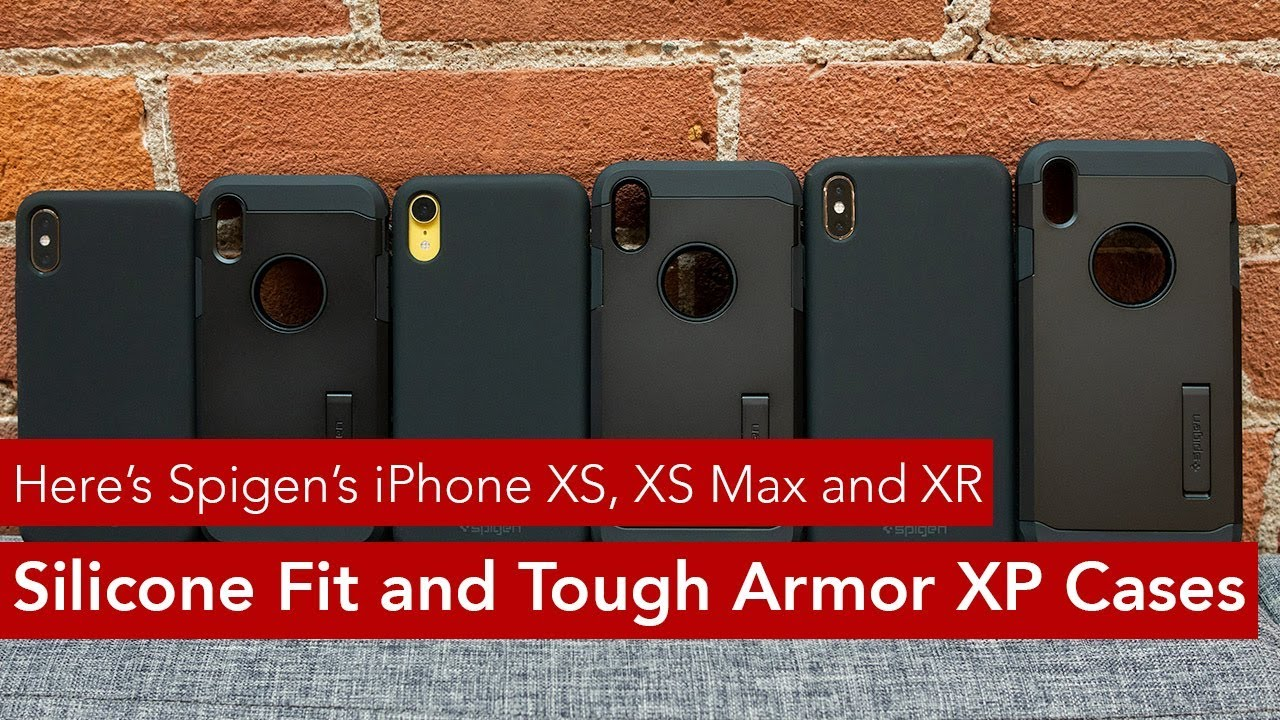 new styles 1305c 93118 Here's Spigen's iPhone XS, XS Max and XR 'Silicone Fit' and 'Tough Armor  XP' cases