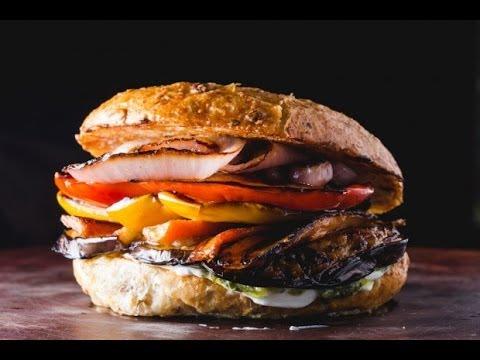 Grilled Veggie Burger Rewind