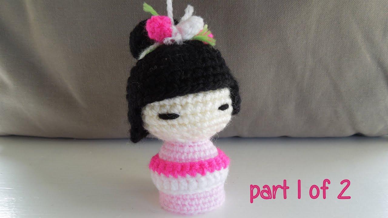 Crochet Amigurumi Crochet Amigurumi Japanese Doll Kokeshi Free ... | 720x1280