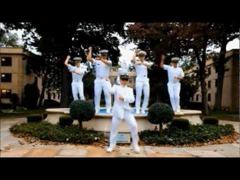 Gangnam Style - US Merchant Marine Academy (미국 해양사관학교 강남스타일 패러디)