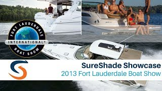 SureShade Showcase at 2013 Fort Lauderdale Boat Show