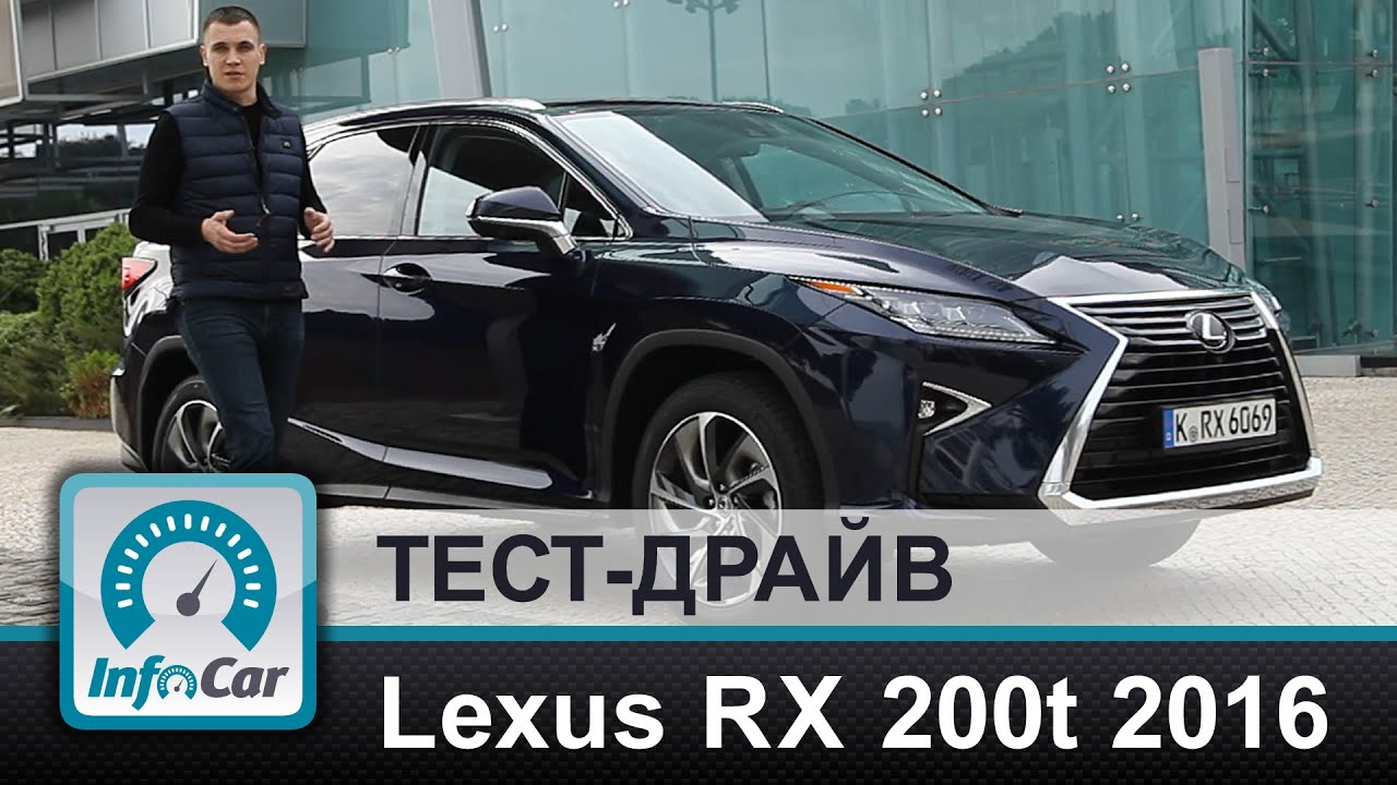 Новый Lexus RX 350 (Лексус РХ 350) 2016 - YouTube