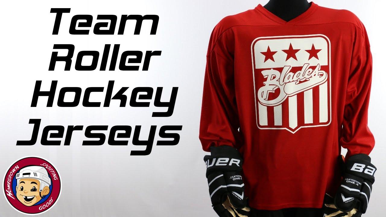 a996b7f26f9 Roller Hockey Jerseys - Homegrown Sporting Goods - YouTube
