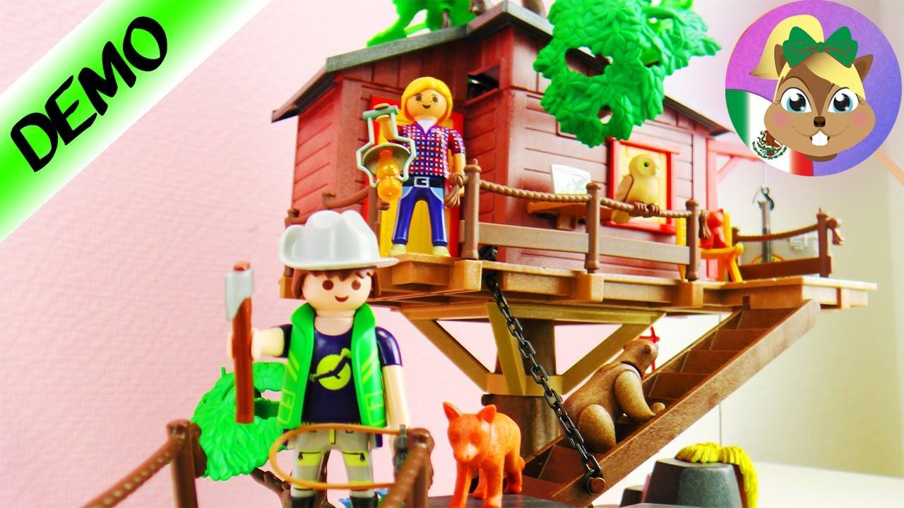 Super casa de aventuras en el rbol playmobil wild life for Casa del arbol playmobil carrefour