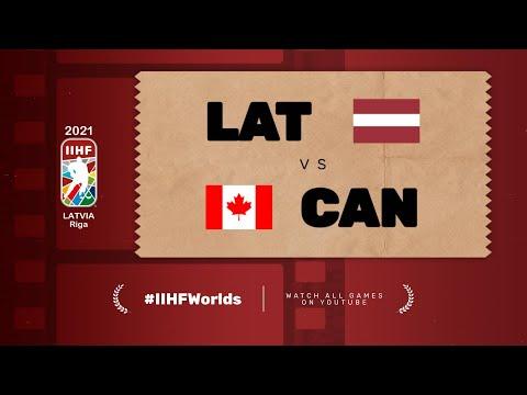 Highlights: CANADA vs LATVIA | 2021 #IIHFWorlds