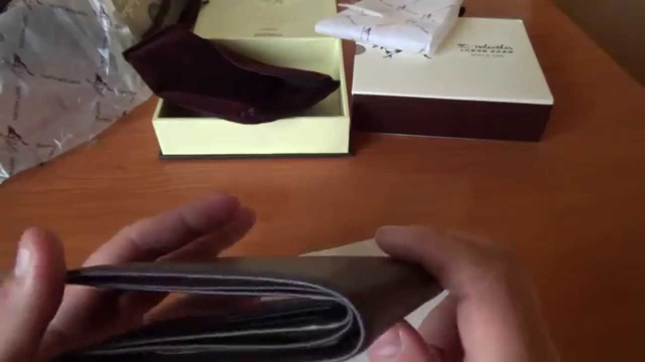 Портмоне Louis Vuitton. AX0340 - YouTube
