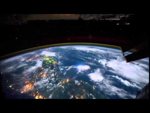 International Space Station Orbiting Earth HD -- By NASA