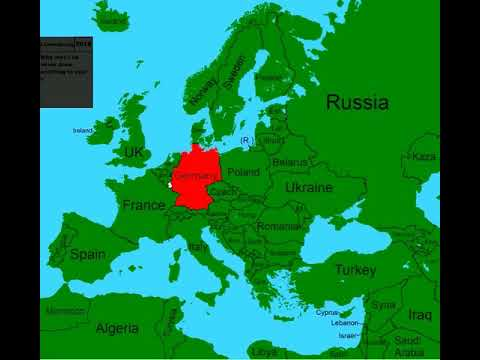 Alternate Future of Europe #1  The Rise of old countries