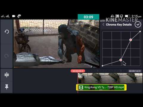How to use chroma key in kinemaster pro   Best settings for chroma key green screen