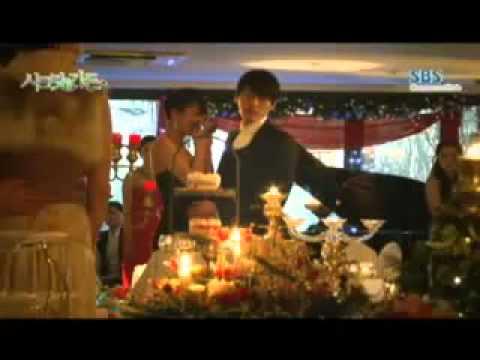 SECRET GARDEN KISS  Behind The Scenes  between Hyun Bin & Ja Ji Won
