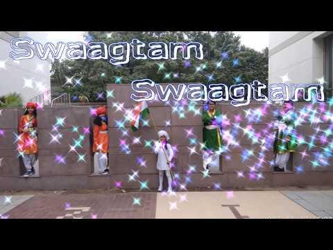 Hindi Welcome Song Swaagtam Swaagtam || Swaagat Geet (स्वागत गीत) with lyrics