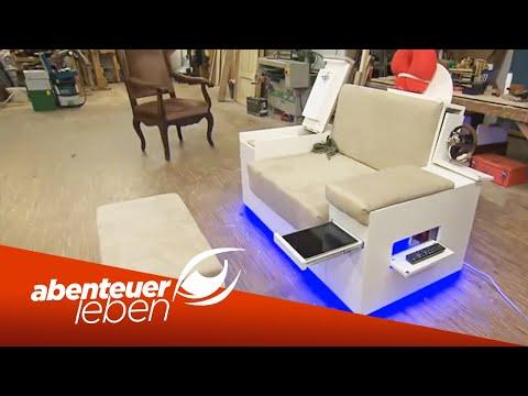 einfach und g nstig selber bauen ein wohnzimmer aus. Black Bedroom Furniture Sets. Home Design Ideas