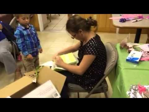 Girl gets puppy surprise for birthday