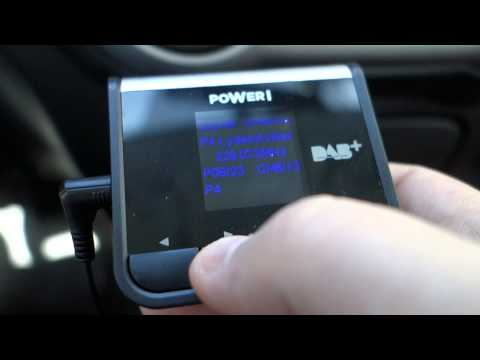 In Car DAB+ Radio With FM Transmitter POWER I PCAD014!