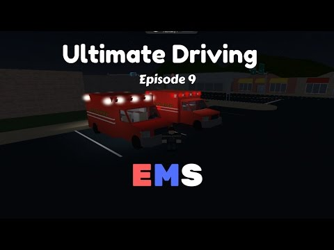 Roblox Ultimate Driving | EMS| Ep.9 Ambulance Patrol!