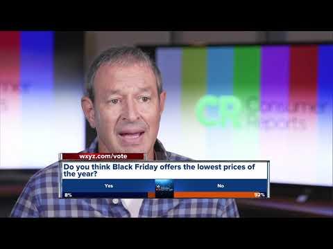 Consumer Reports: Black Friday TV shopping