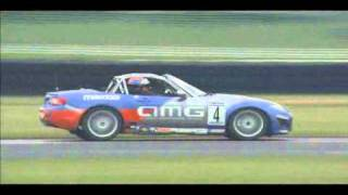 Fifth segment of the seventh race of the 2010 Playboy Mazda MX5 cup...