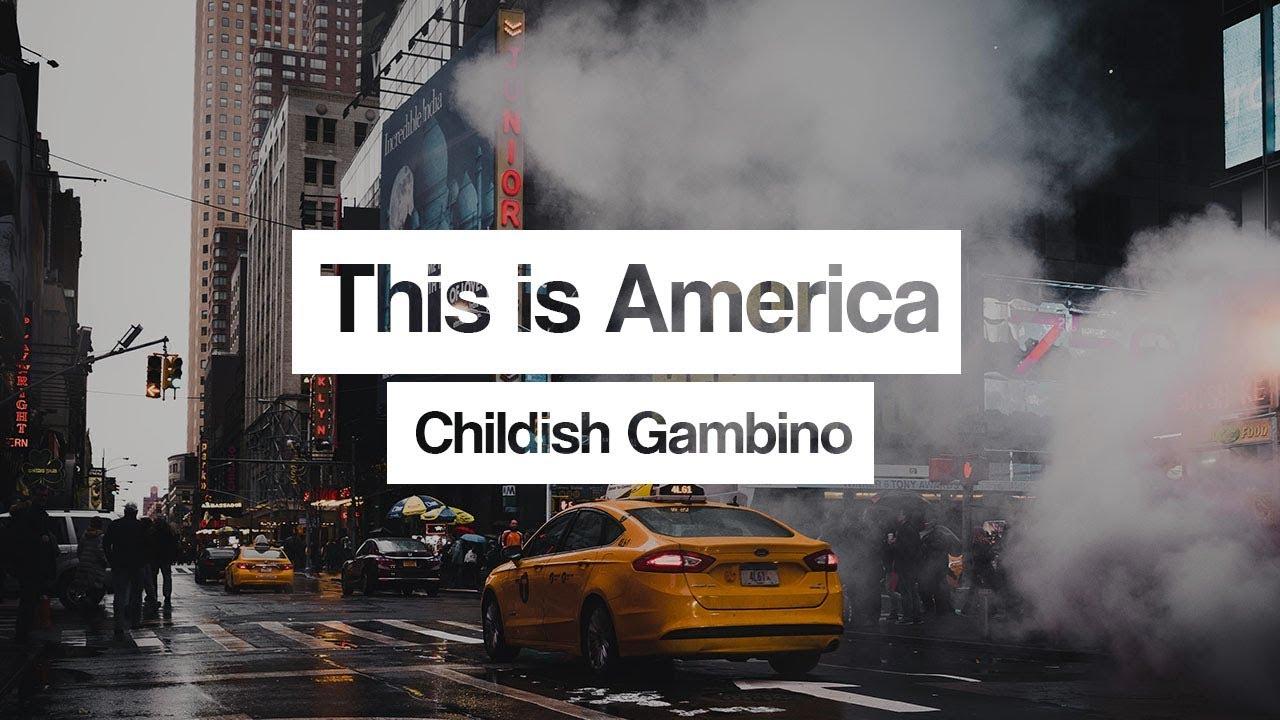 Childish Gambino ‒ This Is America 🎤 (Lyrics) - YouTube