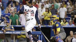2017 World Baseball Classic: USA vs Colombia Highlights