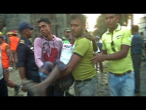 Hunt for survivors after new Bangladesh factory disaster