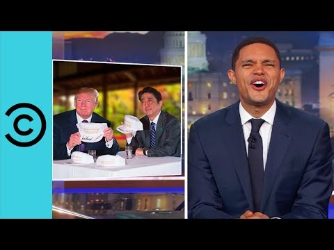 Trump's Golf Date With The Japanese Prime Minister   The Daily Show