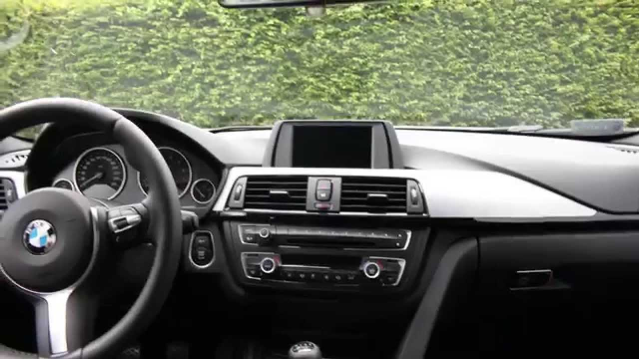Bmw f31 touring m sport 320i interior youtube for Interieur sport youtube