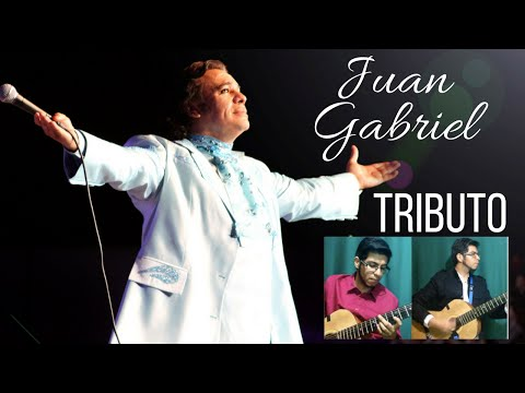 Juan Gabriel. Hasta que te conocí Tributo Popurrí Acústico. Karaoke guitarra c/letra. hu3rrik