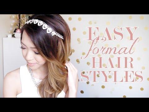 Easy Formal Hairstyles: Hair Tutorial