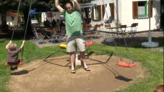 Campingplatz Cimbria cool swing set
