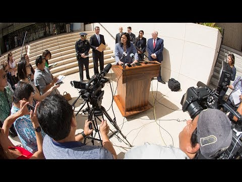 Former Honolulu Police Chief Louis Kealoha and his wife Katherine Kealoha Arrest Press Conference