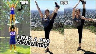 Video I WAS A PROFESSIONAL CHEERLEADER! | 8 Years Later... download MP3, 3GP, MP4, WEBM, AVI, FLV April 2018