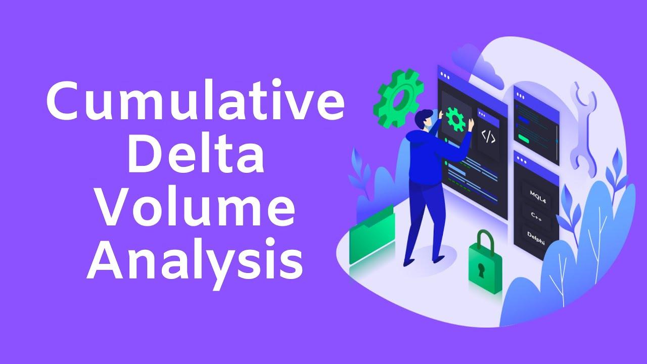 Ctrader Cumulative Delta Volume Indicator Youtube