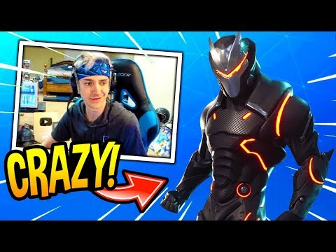 NINJA REACTS TO FULLY-UPGRADED TIER 100 OMEGA SKIN! *LEGENDARY* Fortnite SAVAGE & FUNNY Moments
