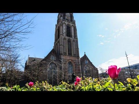 Hollanda'da Aziz Laurens kilisesinin çanları Türkçe ezgilerle çaldı