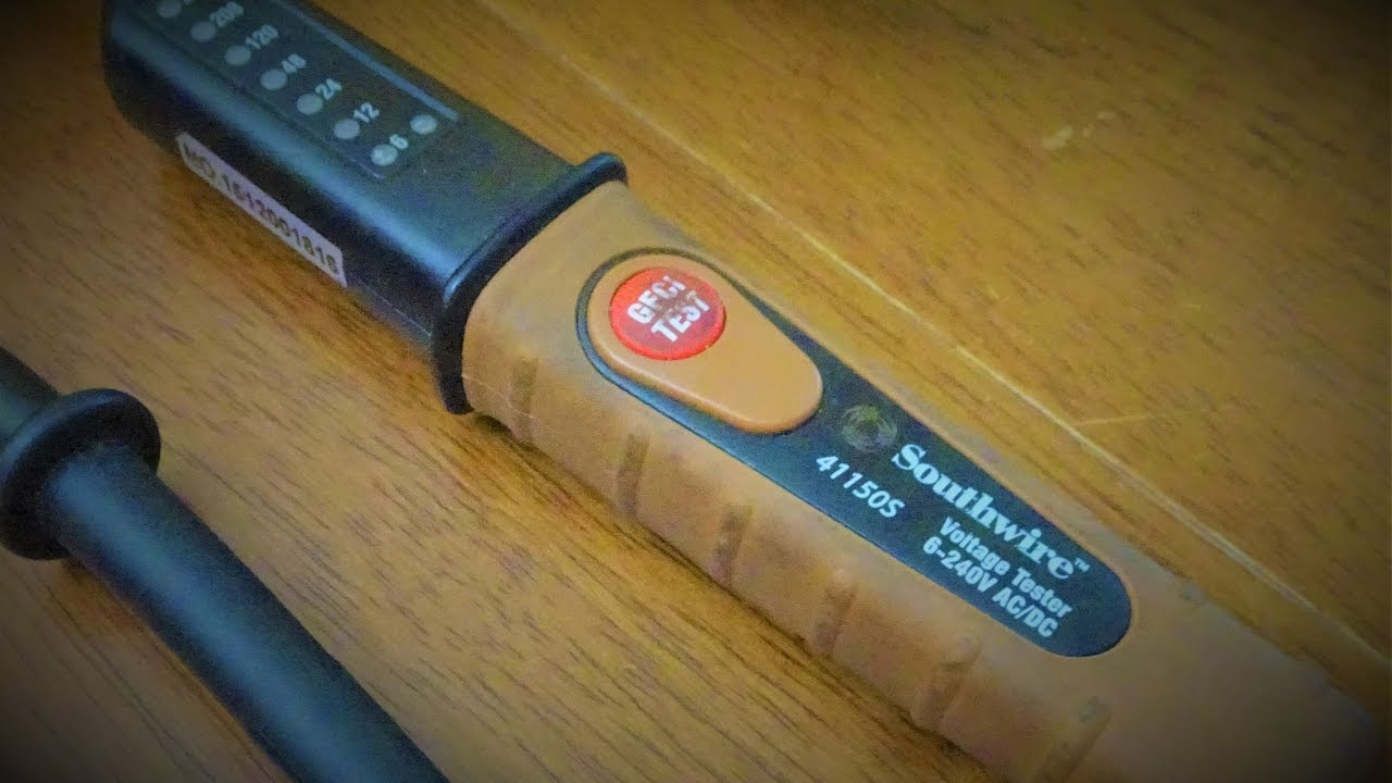 Southwire Electrical Tester : Southwire voltage tester s youtube
