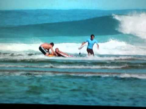 Shark Attack Scene With Clips From Soul Surfer With Me And My Sister Acting Youtube