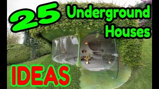 Underground Homes Construction ; this is the future of housing !