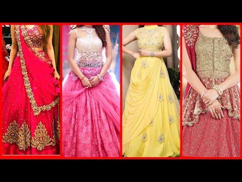 Indian & Pakistani Designer Lehnga Choli Designs For Weddings Function