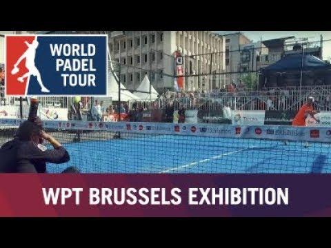 Arranca la World Padel Tour Brussels Exhibition