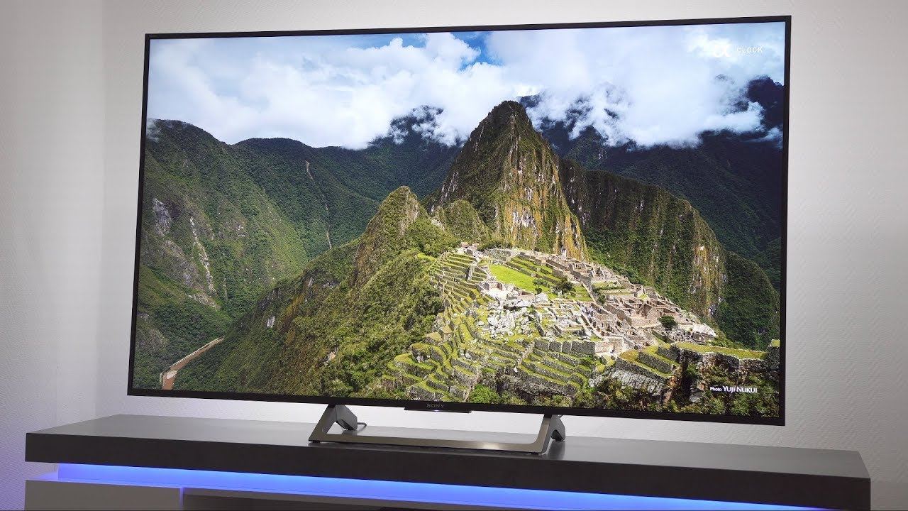 65 4k uhd tv mit hdr im test sony kd 65xe7096 7004 youtube