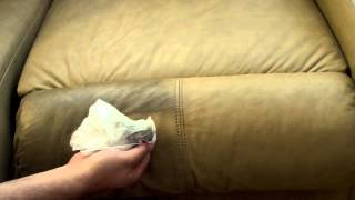 How To Easily Clean Your Leather Couch Sofa - For Pennies!